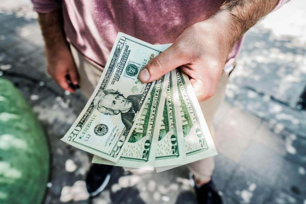 rent collection cash in hands