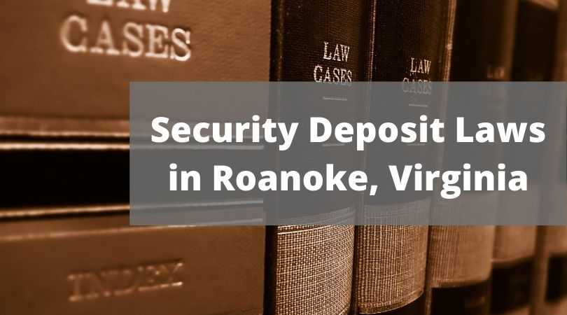 security deposit laws in VA