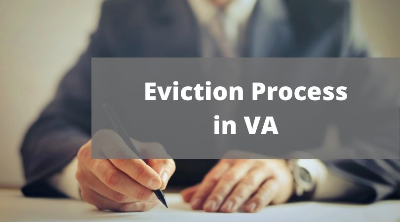 how to evict someone in va